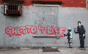 Banksy - Ghetto 4 Life