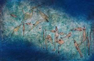Fischbild Paul Klee 1925