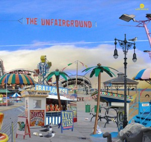 Kevin Ayers -The Unfairground Cover Art
