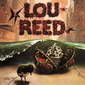 Lou Reed - 1st - 1972- Cover Art