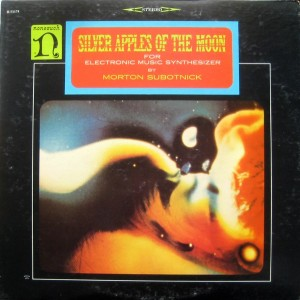Morton Subotnick Silver Apples Of The Moon Album Cover