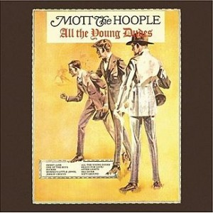 Mott The Hoople - All The Young Dudes - Cover Art
