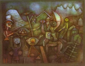 Paul Klee Carnival In The Mountains 1924