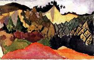 Paul Klee In The Quarry 1913