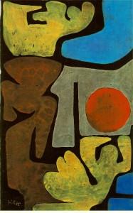 Paul Klee Park Of Idols 1938