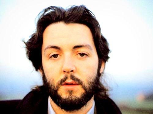 Paul McCartney With Beard Colour