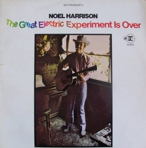 The Great Electric Experiment Is Over- 1969 - Cover Art
