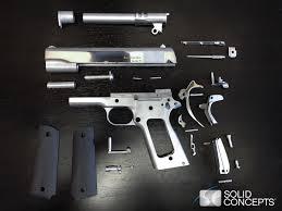 3 D Printed gun