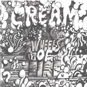 Cream Wheels Of Fire Cover Art 1968