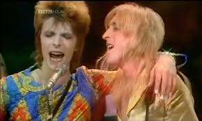 David Bowie, Mick Ronson TOTP 72