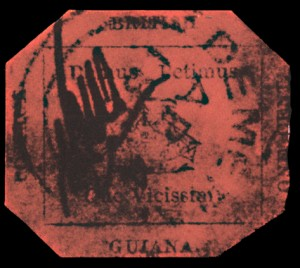 British_Guiana_One_Cent_Magenta_Rare_Stamp