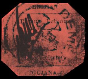 British_Guiana_One_Cent_Magenta_Rare_Stamp