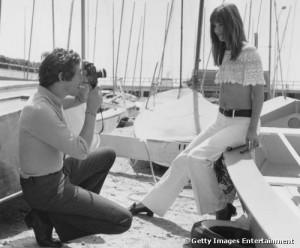Serge Gainsbourg and Jane Birkin Canneds Film Festival 1969