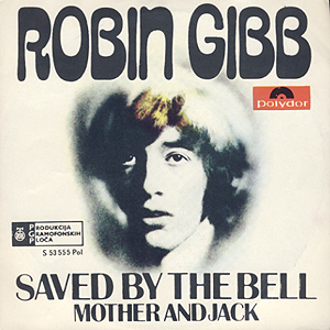 Robin Gibb, Saved By The Bell Cover Art 1969