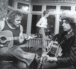 Gordon Lightfoot and Bob Dylan 1974