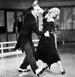 Fred Astaire and Ginger Rogers Swing Time 1936