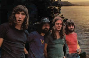 Pink Floyd Colour Pic 1971