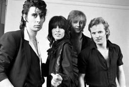 The Pretenders 1979 B:W pic