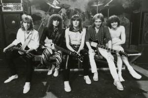 Def Leppard B:W pic 1983