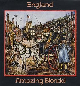The Amazing Blondel England Cover Art 1972