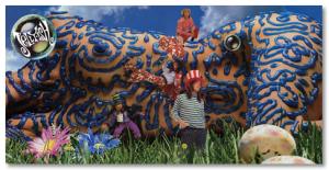 Jellyfish - Bellybutton Album Cover 1990