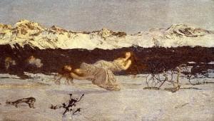 Punishment Of Luxury - Giovanni Segantini -1858-199