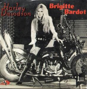 Brigitte ardot - Harley Davidsoc Cover Art 1967
