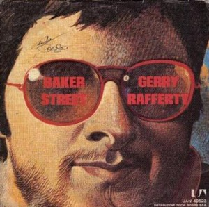 Gerry Rafferty Baker Street Single Cover 1978
