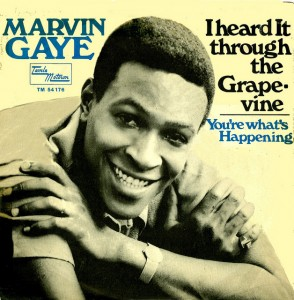 Marvin Gaye I Heard It Through The Grapevine Single Cover 1968