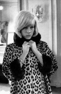 Sylvie Vartan leopard Skin sixties