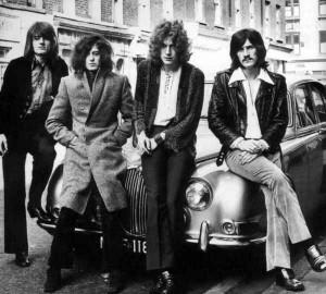 Led Zeppelin Sixties B:W Jaguar