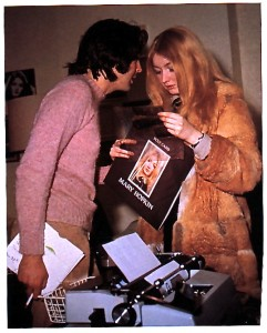 Mary Hopkin and Paul McCartney