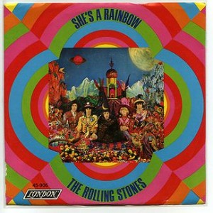 Rolling Stones - She's A Rainbow single cover US