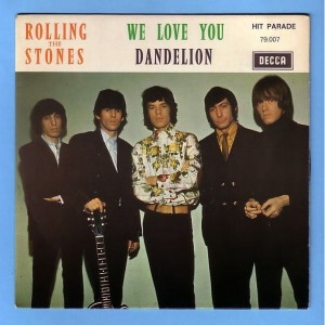 Rolling Stones We Love You single cover 1967