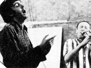 Chris Barber and Paul mcCartney 1967