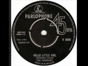 Hello Little Girl The Fourmost 7 inch