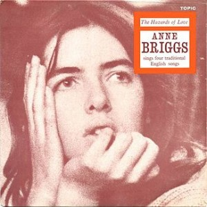 Anne Briggs - The Hazards Of Love EP Cover Art