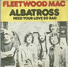 Fleetwood Mac Albatross cover Art