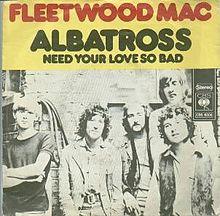 Fleetwood Mac Albatross cover Art
