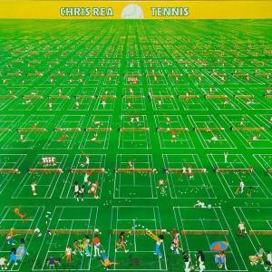 Chris Rea Tennis Album cover 1980