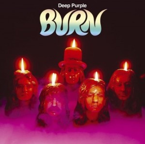 Deep Purple Burn Album Cover 1974