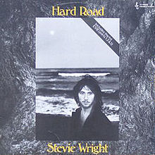 Stevie Wright Hard Road cover 1974