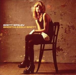 Brett Smiley Breathlessly Brett Album Cover 1974