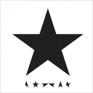 David Bowie Blackstar CD Album Cover - 2015