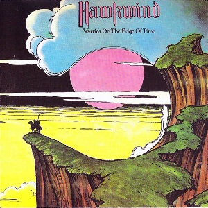Hawkwind Warrior On The Edge Of Time 1975 Album Cover