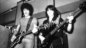 Jimmy Bain and Phil Lynott B:W pic