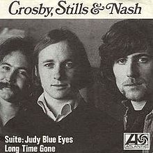 Crosby, Stills & Nash - Suite- Judy Blue Eyes single Cover 1969