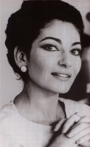 Maria Callas B:W Pic