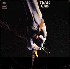 Tear Gas - second album - cover art- 1971