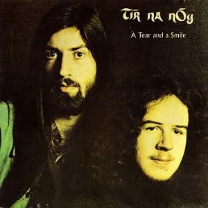 Tir Na Nog - A Tear And A Smile - 1972 - Cover Art